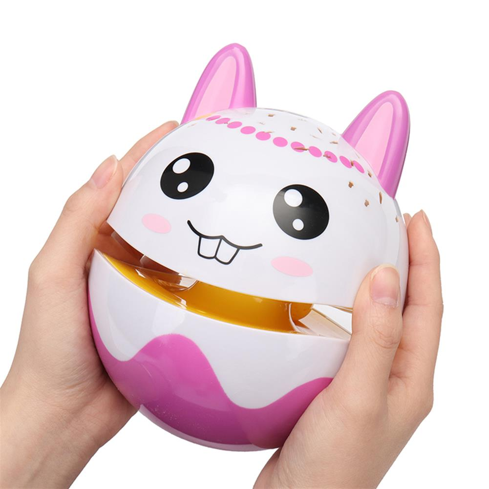 novelties Christmas Cute Luminous Tumbler Doll Projection with Music Baby Toys for Kids Children Gift HOB1225155 2