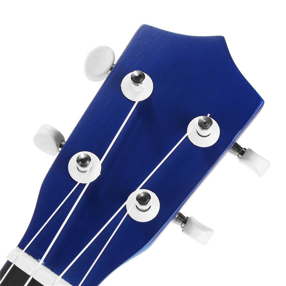 ukulele 21 inch Economic Soprano Ukulele Uke Musical instrument with Gig bag Strings Tuner Blue HOB1225583 2