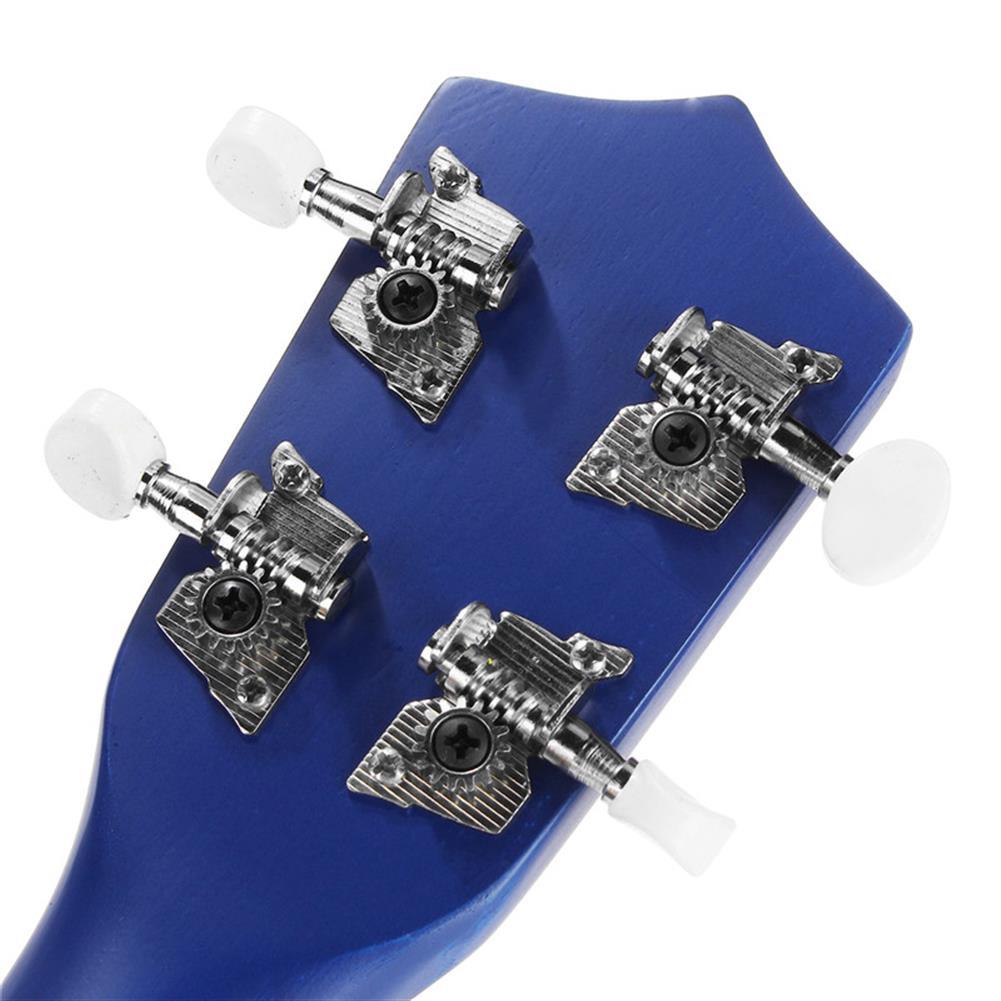 ukulele 21 inch Economic Soprano Ukulele Uke Musical instrument with Gig bag Strings Tuner Blue HOB1225583 3