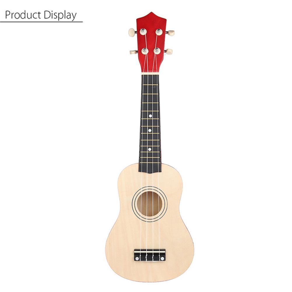ukulele 21 inch Burlywood Soprano Ukulele Uke Hawaiian Guitar 12 Fret with Tuner Strap Carrying Bag HOB1228362 2