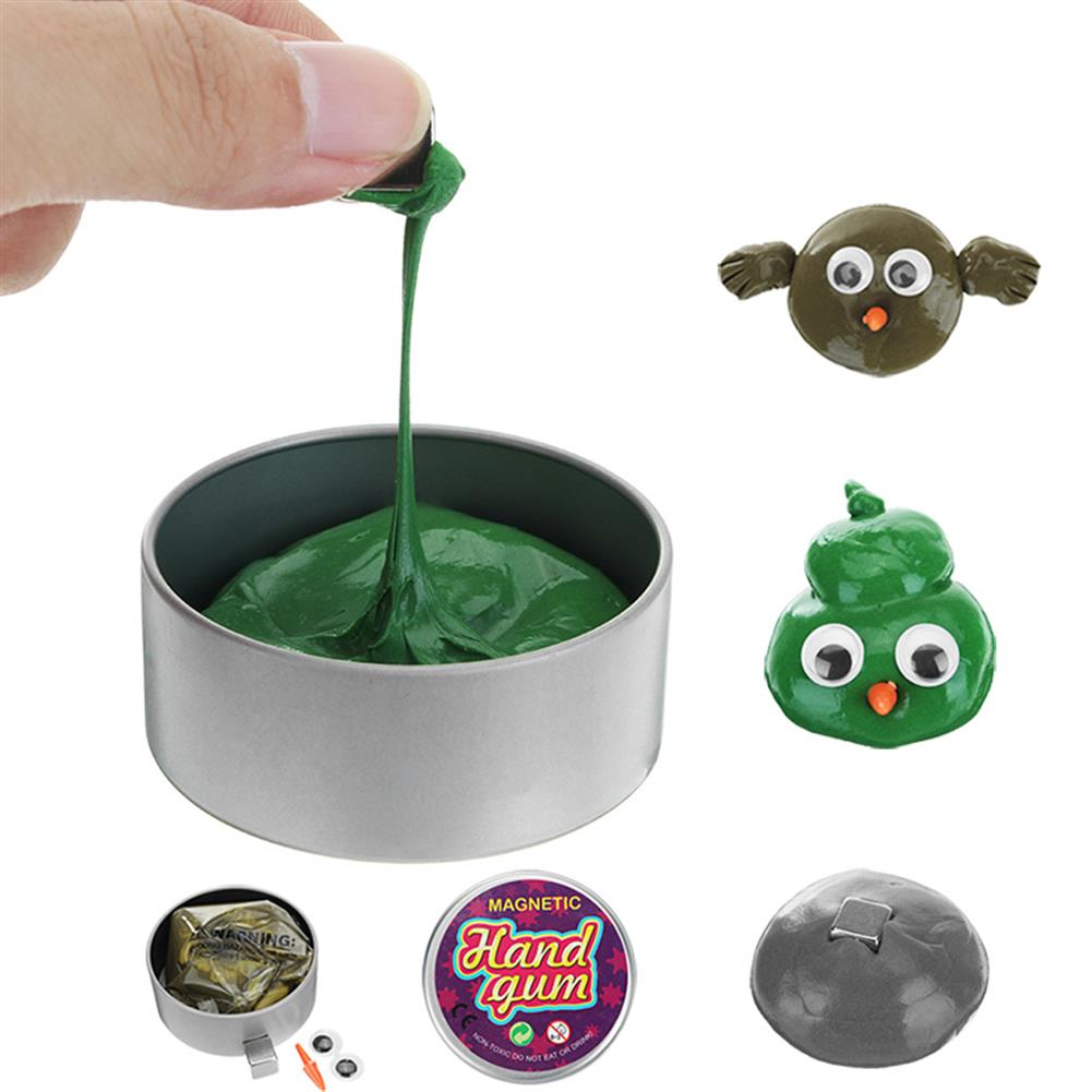 magnetic-toys Christmas Hand Gum Magnetic Rubber Mud Plasticine Clay for Kids Children Reduce Stress Toys Gift HOB1228612