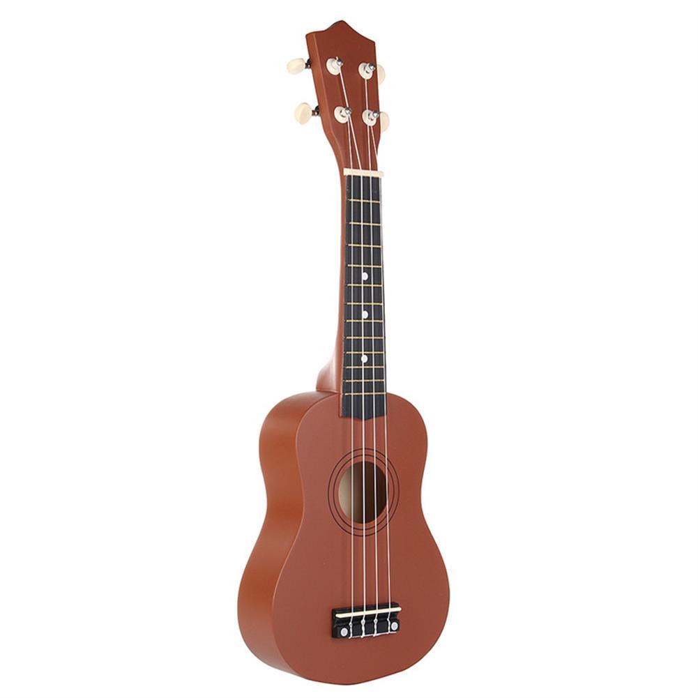ukulele 21 inch Brown Soprano Basswood Ukulele Uke Hawaii Guitar Musical instrument HOB1232996 1
