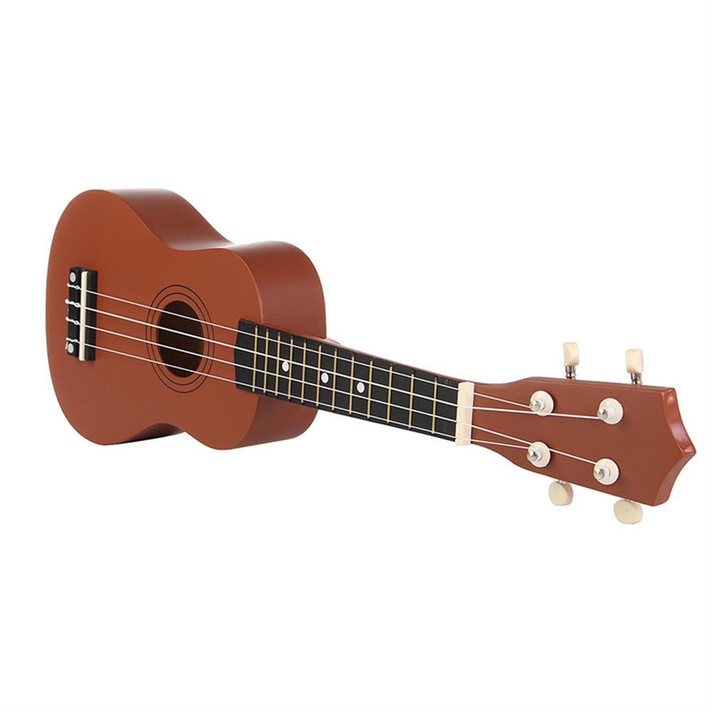 ukulele 21 inch Brown Soprano Basswood Ukulele Uke Hawaii Guitar Musical instrument HOB1232996 3