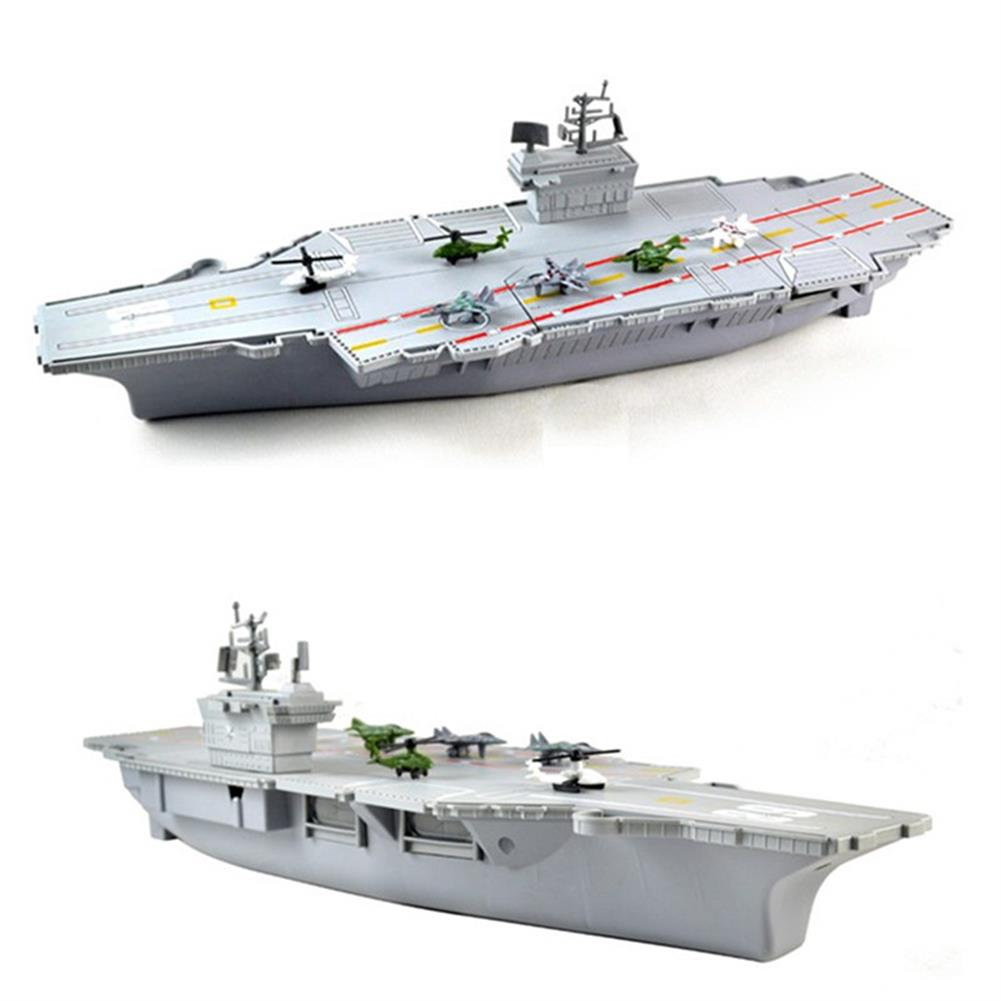 model-building Simulation Aircraft Carrier Static Model with 6 Airplane for Kids Children Christmas Gift Toys HOB1234293