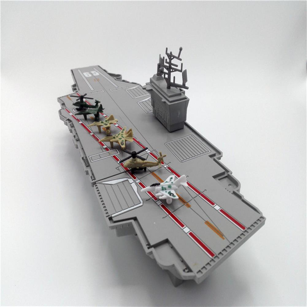 model-building Simulation Aircraft Carrier Static Model with 6 Airplane for Kids Children Christmas Gift Toys HOB1234293 3