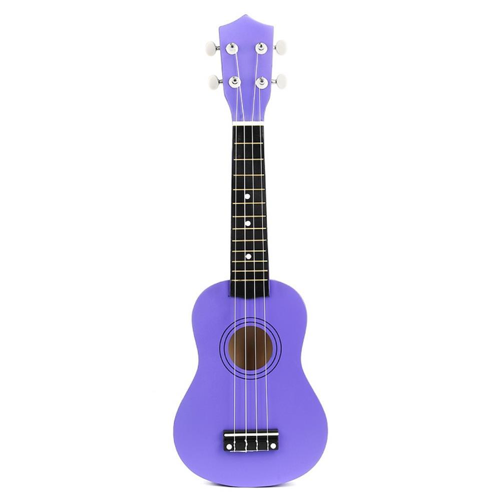 ukulele 21 inch Economic Soprano Ukulele Uke Musical instrument with Gig bag Strings Tuner Purple HOB1235783 2