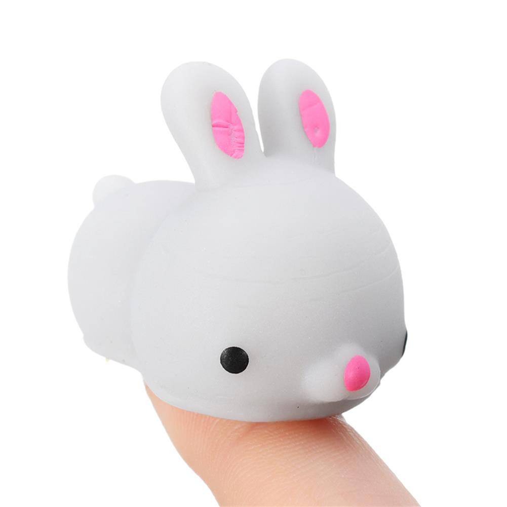 squishy-toys Grey Bunny Rabbit Squishy Squeeze Cute Healing Toy Cute Collection Stress Reliever Gift Decor HOB1239551