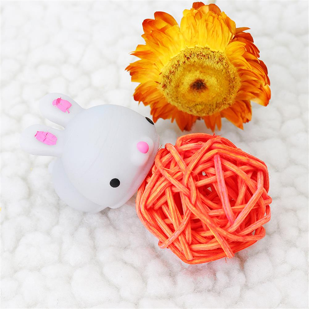 squishy-toys Grey Bunny Rabbit Squishy Squeeze Cute Healing Toy Cute Collection Stress Reliever Gift Decor HOB1239551 1