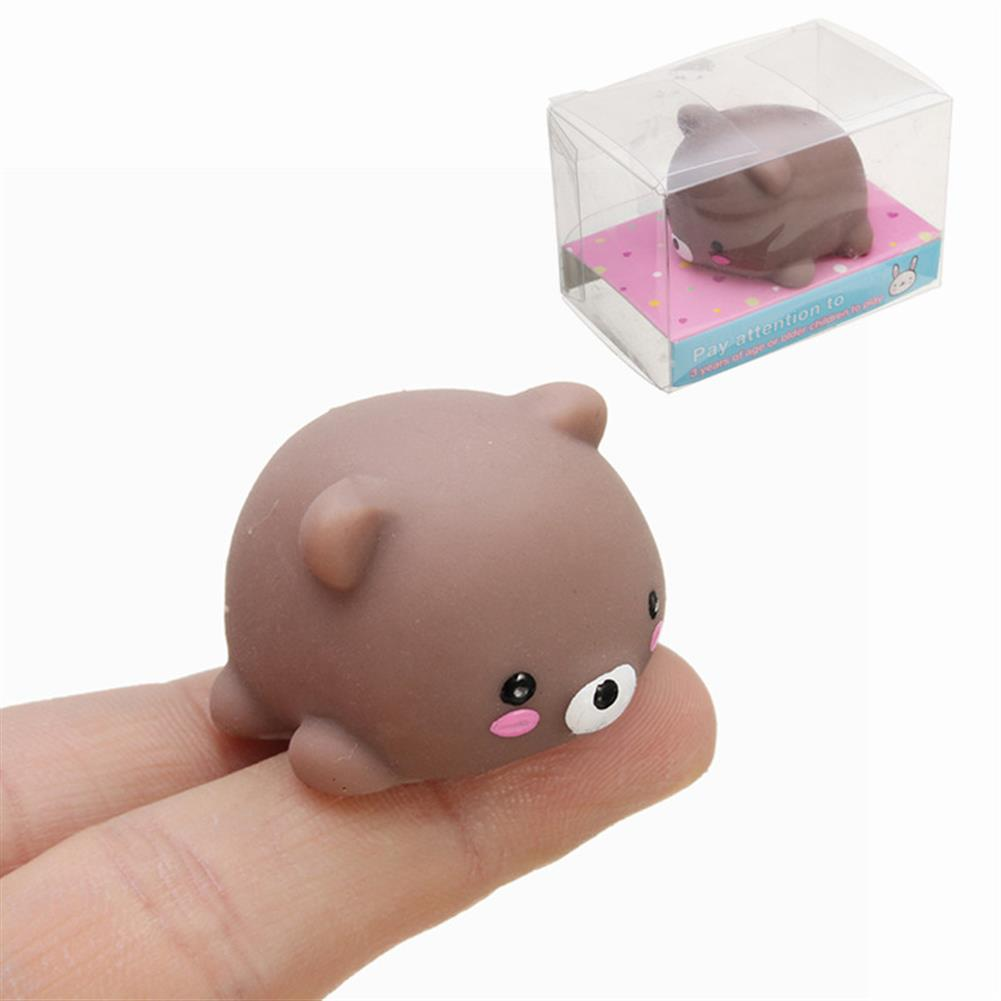 squishy-toys Bear Mochi Squeeze Squishy Cute Healing Toy Kawaii Collection Stress Reliever Gift Decor HOB1243093
