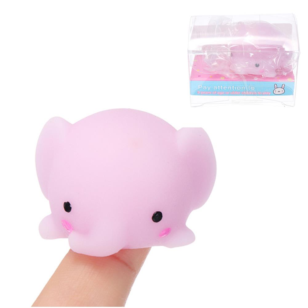 squishy-toys Elephant Mochi Squishy Squeeze Cute Healing Toy Kawaii Collection Stress Reliever Gift Decor HOB1243094