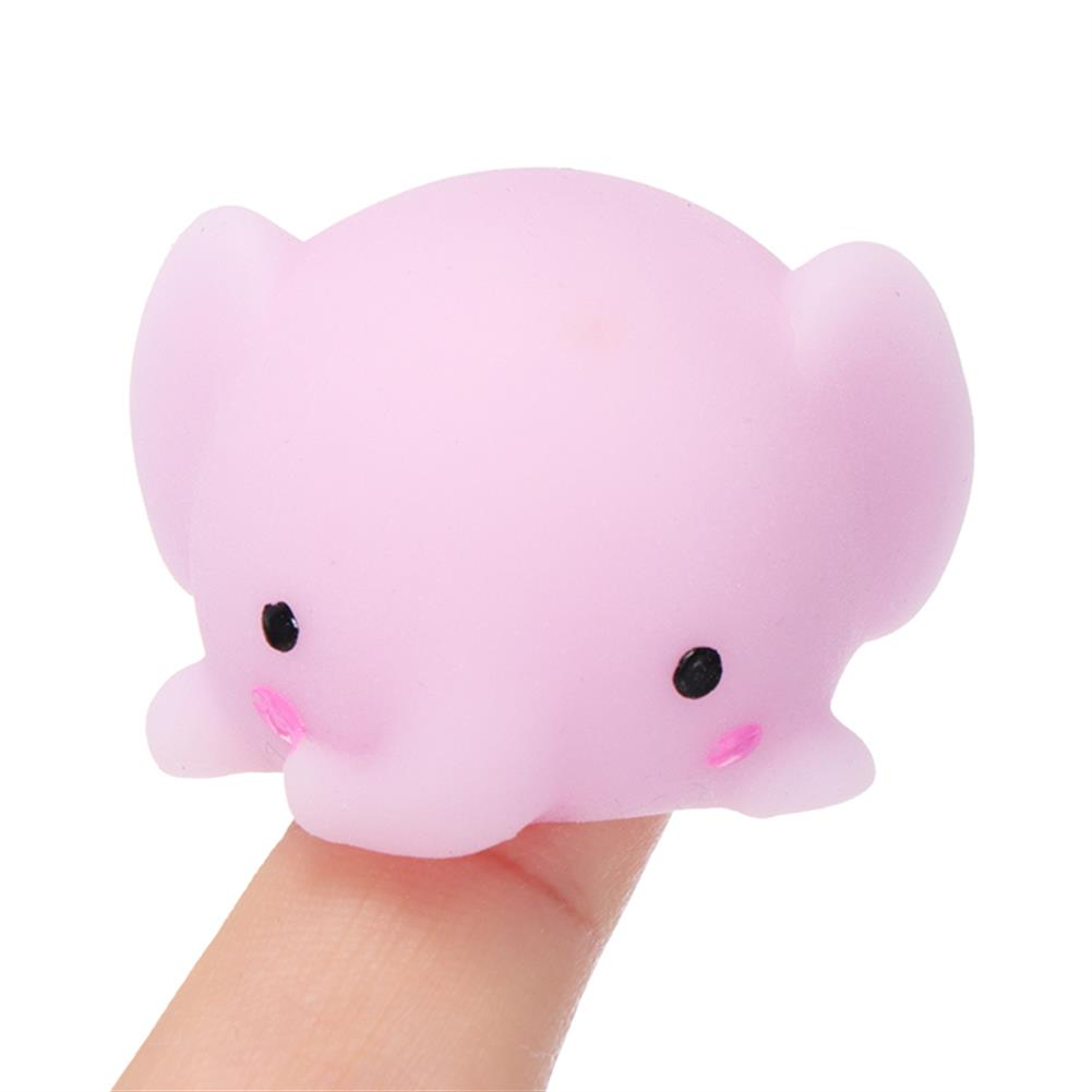 squishy-toys Elephant Mochi Squishy Squeeze Cute Healing Toy Kawaii Collection Stress Reliever Gift Decor HOB1243094 1