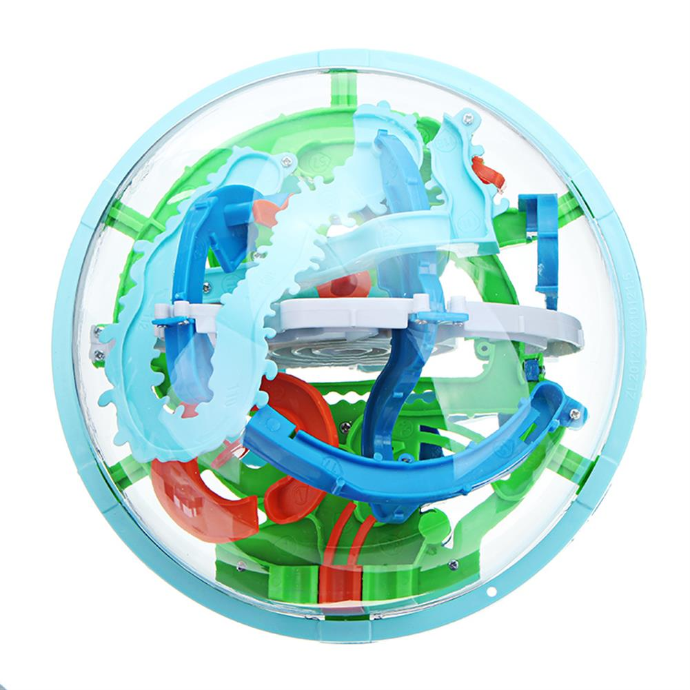 novelties 3D Magic 138 Levels Maze Rolling Ball Puzzle Game Brain Teaser Children Learning Educational Toys HOB1243280 1