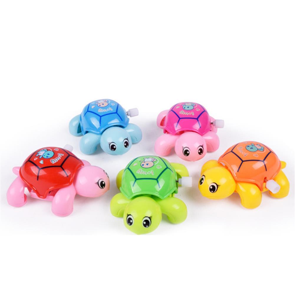 wind-up-tin-toys Cute Cartoon Animal Clockwork Turtle Mini Crawling Wind Up Kids Educational Classic Toy Random Color HOB1243487 1