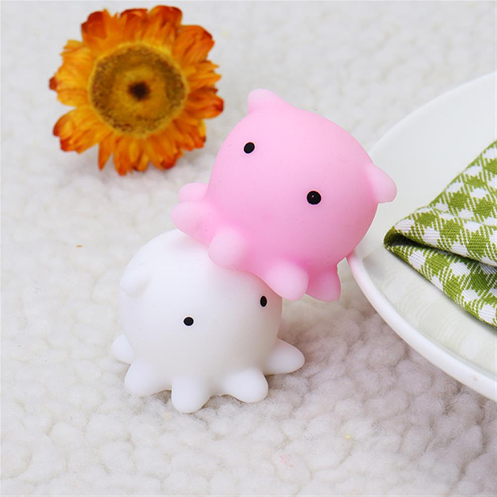 squishy-toys Octopus Squishy Squeeze Cute Mochi Healing Toy Kawaii Collection Stress Reliever Gift Decor HOB1244309