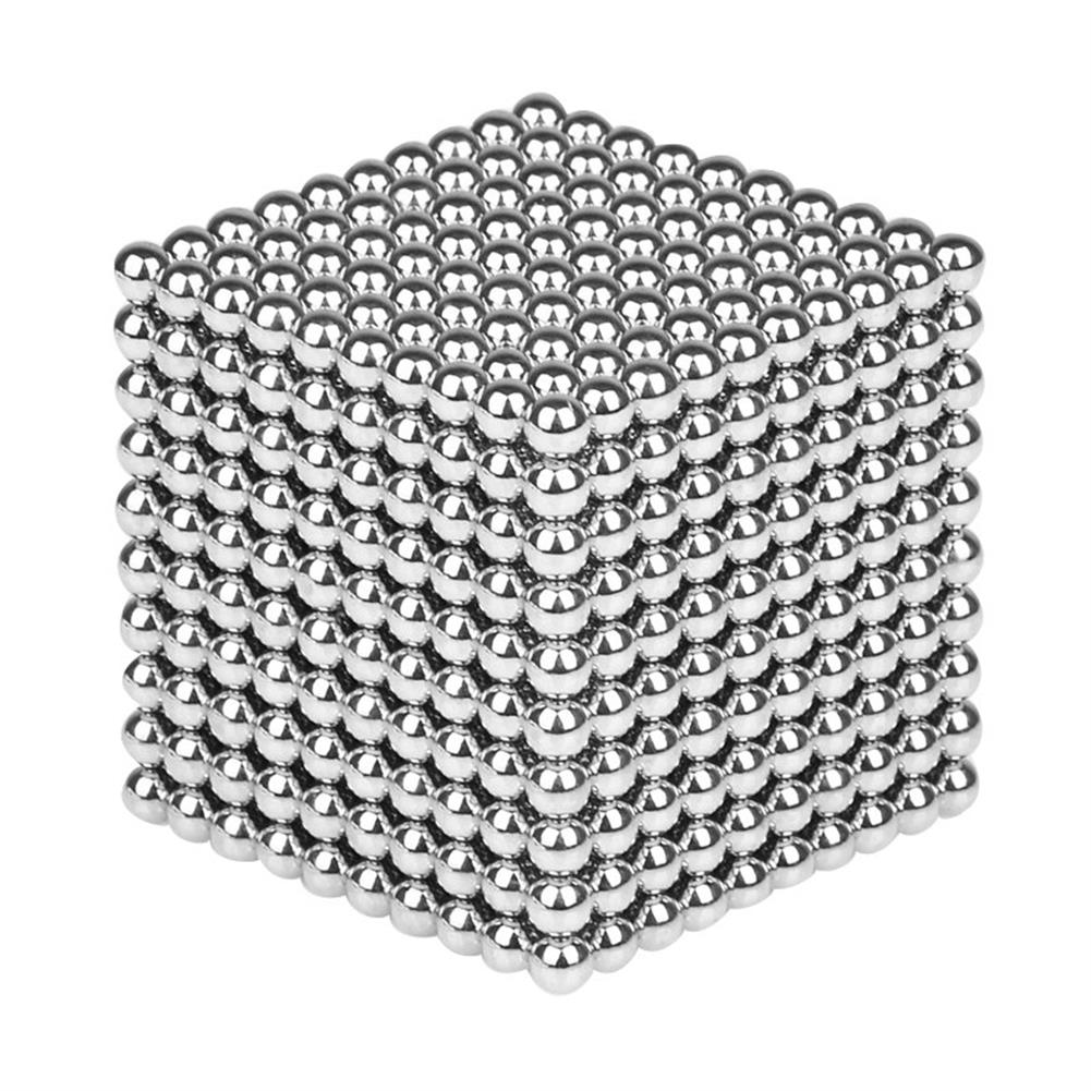 magnetic-toys 1000PCS Per Lot 5mm Magnetic Buck Ball Magnet Silver intelligent Stress Reliever Toys Gift HOB1247098