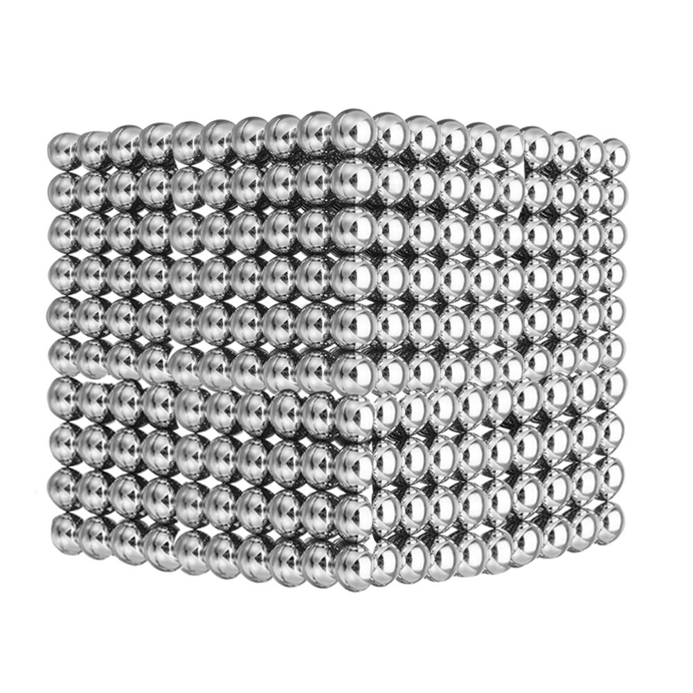 magnetic-toys 1000PCS Per Lot 5mm Magnetic Buck Ball Magnet Silver intelligent Stress Reliever Toys Gift HOB1247098 1