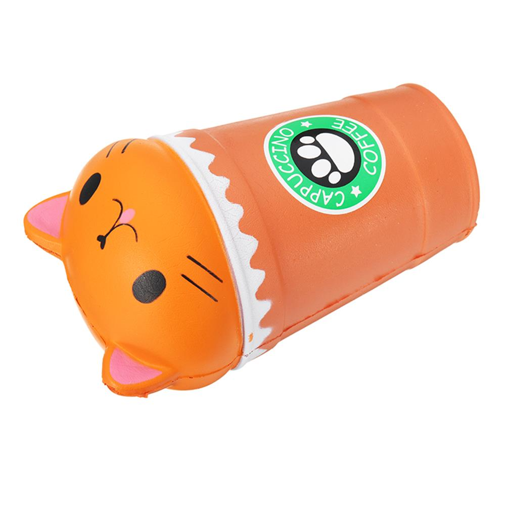 squishy-toys Sunny Squishy Cat Coffee Cup 13.5*8.5CM Slow Rising Soft Animal Toy Gift with Packing HOB1253549 3