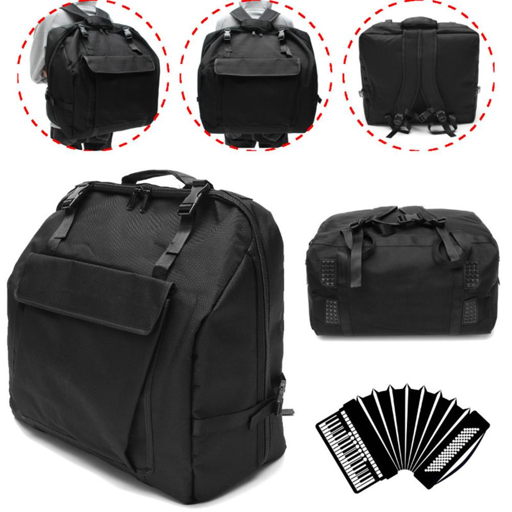 keyboard-accessories Thick Padded 120 BASS Piano Accordion Gig Bag Accordion Cases Accordion Backpack HOB1254219