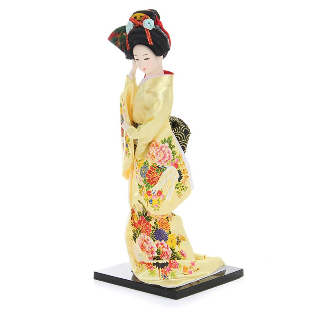 dolls-action-figure 30cm Oriental Japanese Brocade Kimono Kabuki Doll Geisha Action Figure Figurine Statue HOB1256744 1