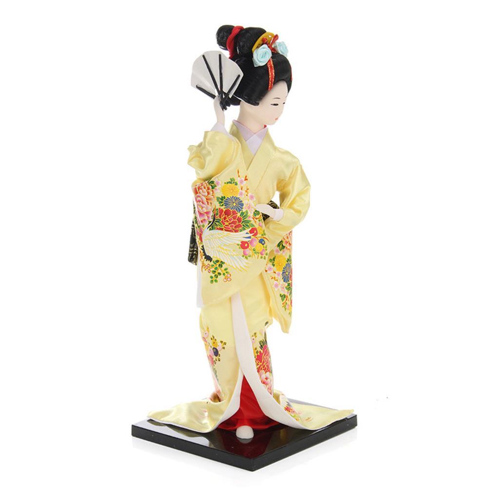 dolls-action-figure 30cm Oriental Japanese Brocade Kimono Kabuki Doll Geisha Action Figure Figurine Statue HOB1256744 2