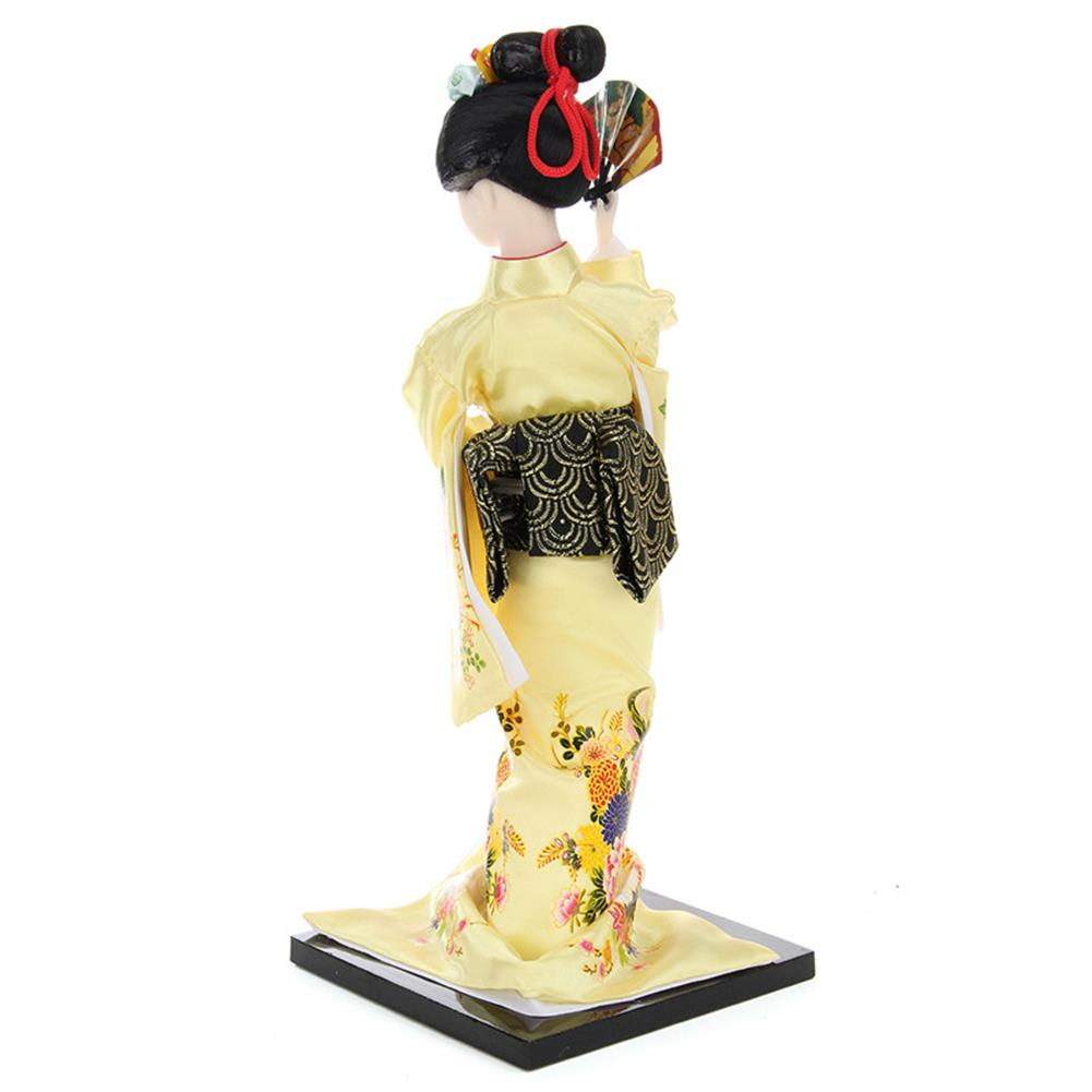 dolls-action-figure 30cm Oriental Japanese Brocade Kimono Kabuki Doll Geisha Action Figure Figurine Statue HOB1256744 3