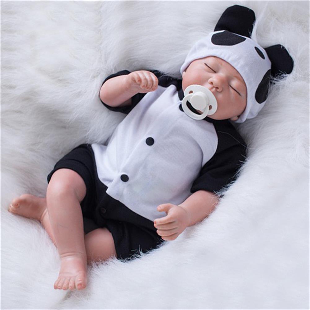 dolls-action-figure 20 Lifelike Newborn Silicone Vinyl Reborn Baby Doll Handmade Reborn Dolls Gift HOB1259582