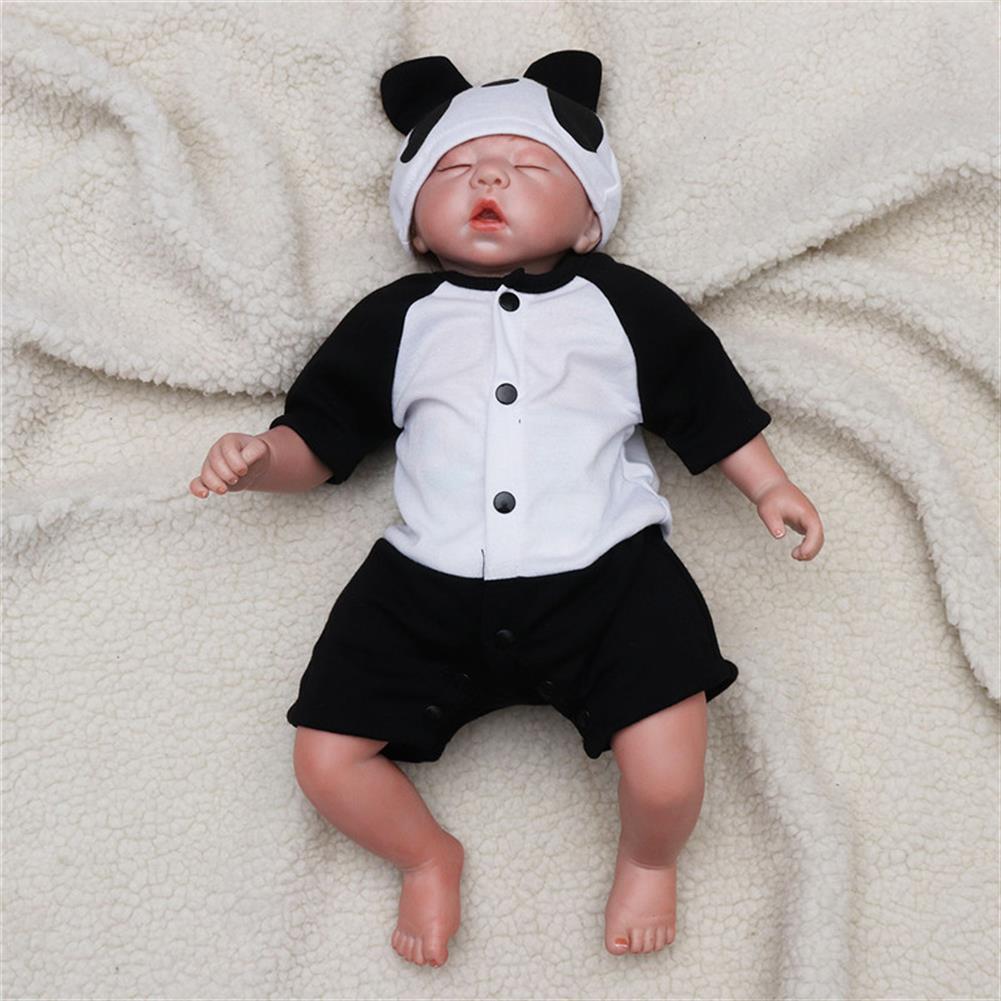 dolls-action-figure 20 Lifelike Newborn Silicone Vinyl Reborn Baby Doll Handmade Reborn Dolls Gift HOB1259582 3
