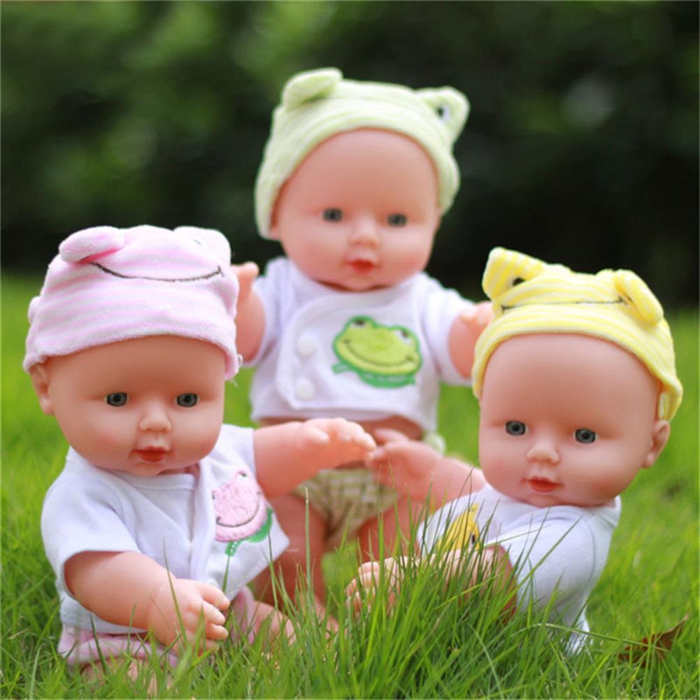 dolls-action-figure 30CM Newborn Baby Doll Gift Toy Soft Vinyl Silicone Lifelike Newborn KidsToddler Girl HOB1259583