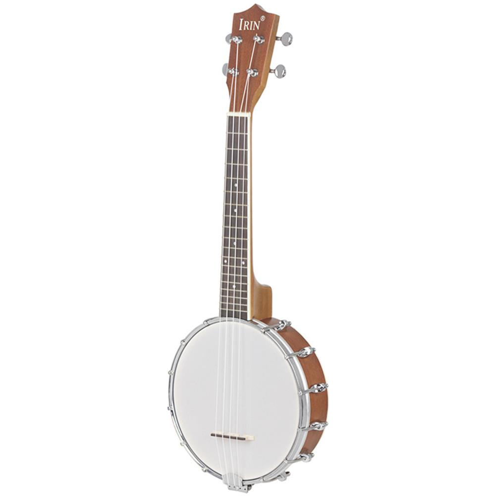 banjo IRIN 23 inch Banjo Sapele Wood 4 Strings Banjolele Concert Size HOB1262373