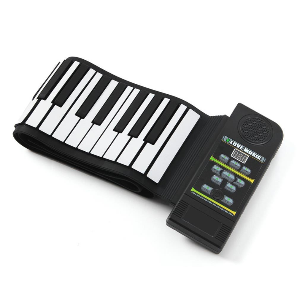 roll-up-piano 88 Key Roll Up Digital Tone Electronic Soft Keyboard Piano MIDI Sustain Pedal HOB1265794 1