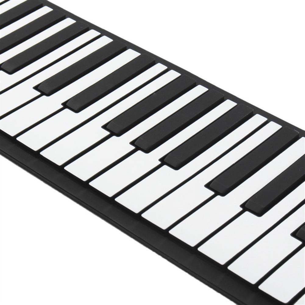 roll-up-piano 88 Key Roll Up Digital Tone Electronic Soft Keyboard Piano MIDI Sustain Pedal HOB1265794 2