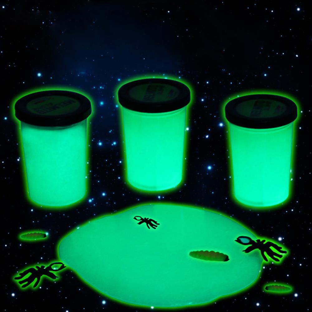pottery-clay-tools Luminous Slime Glow in the Dark Play Plasticine Pearlescent DIY Funny Gift HOB1266870