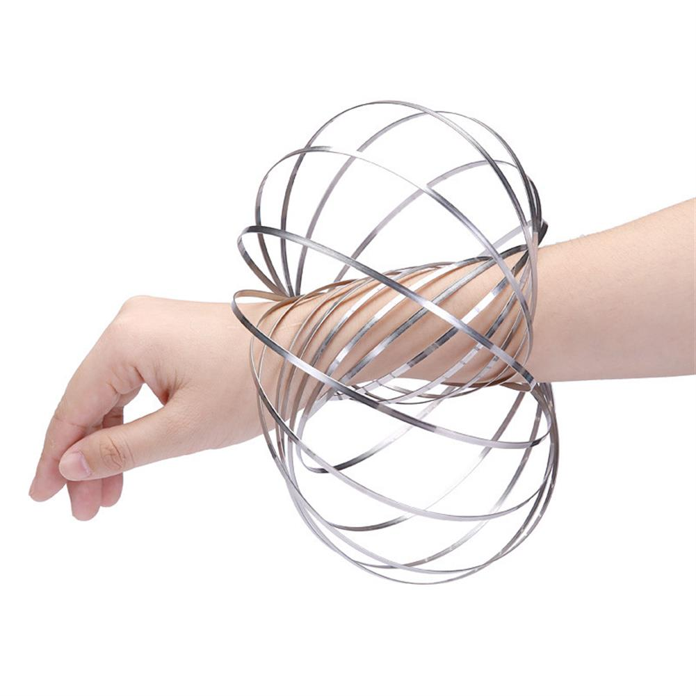 gags-practical-jokes Stainless Flow Rings Magic Bracelet Flowtoys Exercise Artifact Creative Toys Gift HOB1274056