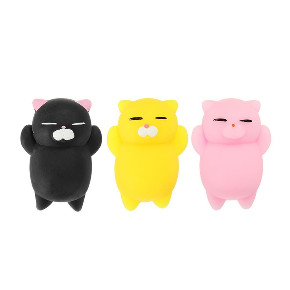 squishy-toys Mochi Kitten Cat Squishy Squeeze Cute Healing Toy Kawaii Collection Stress Reliever Gift Decor HOB1275966 1