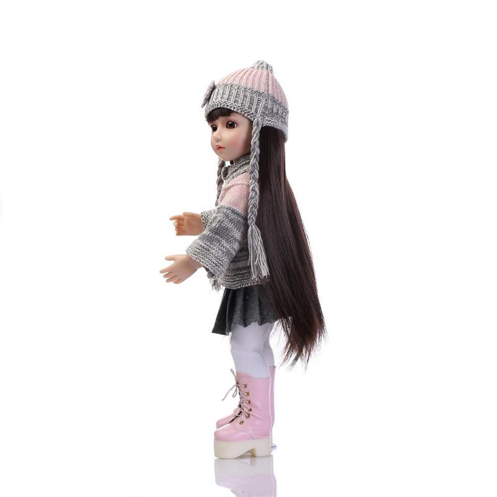 dolls-action-figure NPK 18inch Realistic Reborn Baby Joint BJD Girl Doll Alive Soft Vinyl Toddler Princess Toy HOB1277447 2