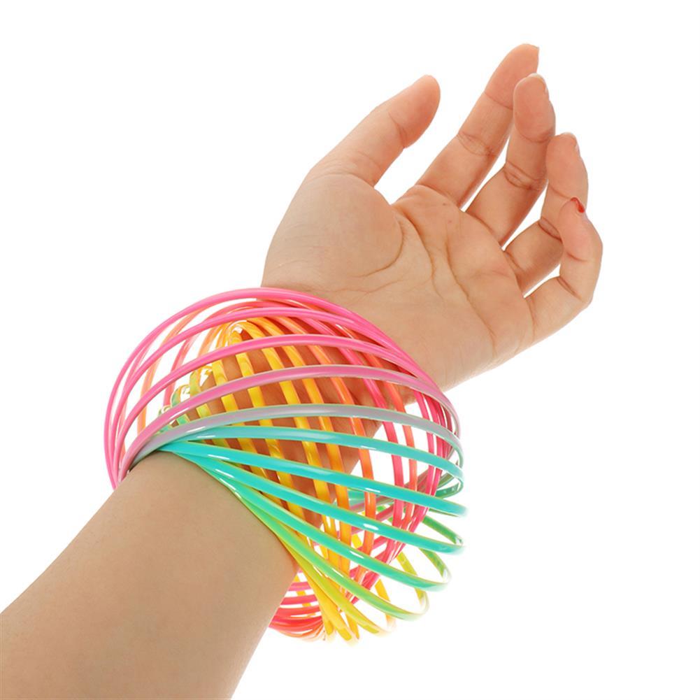 gags-practical-jokes PVC Rainbow Flow Rings Magic Bracelet Flowtoys Exercise Artifact Creative Toys Gift HOB1277832