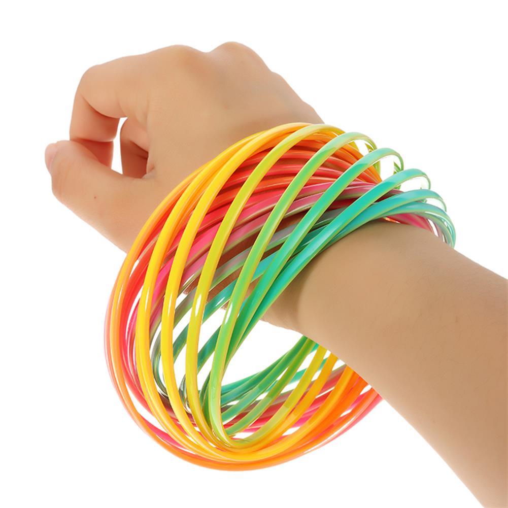 gags-practical-jokes PVC Rainbow Flow Rings Magic Bracelet Flowtoys Exercise Artifact Creative Toys Gift HOB1277832 1