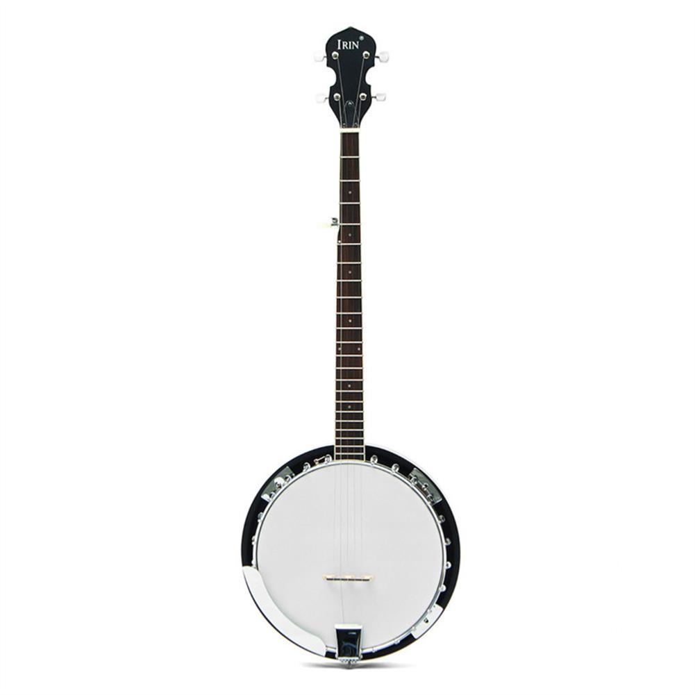 banjo 5-String 22 Fret Remo Bluegrass Banjo Guitar Mahogany Wood Traditional Western Ukulele HOB1279593