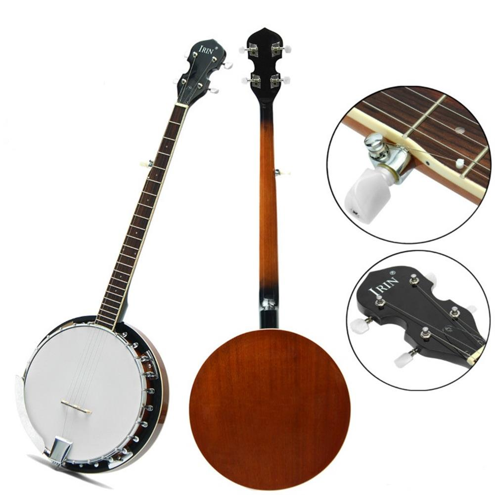 banjo 5-String 22 Fret Remo Bluegrass Banjo Guitar Mahogany Wood Traditional Western Ukulele HOB1279593 1