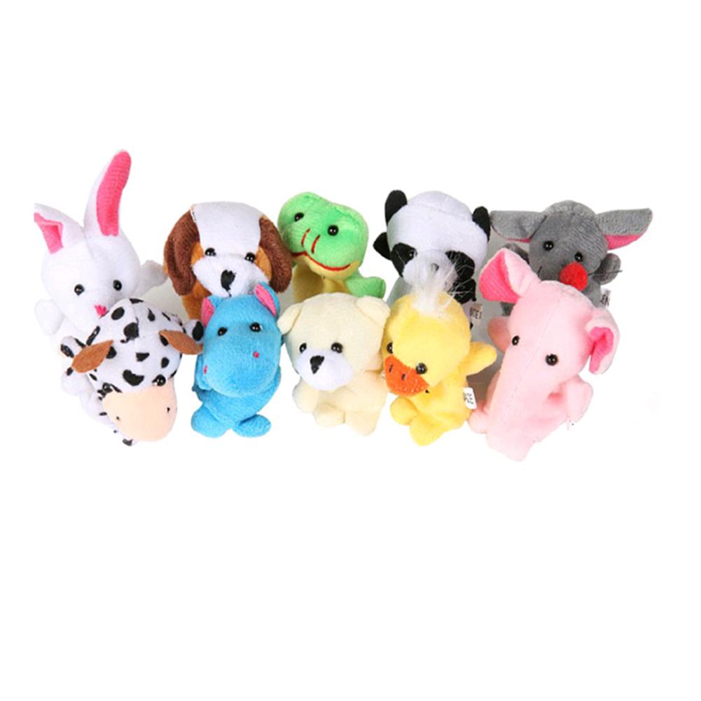 stuffed-plush-toys Farm Zoo Animal Finger Puppets Stuffed Plush Toys Bedtime Story Fairy Tale Fable Boys Girls Party To HOB1282695 1