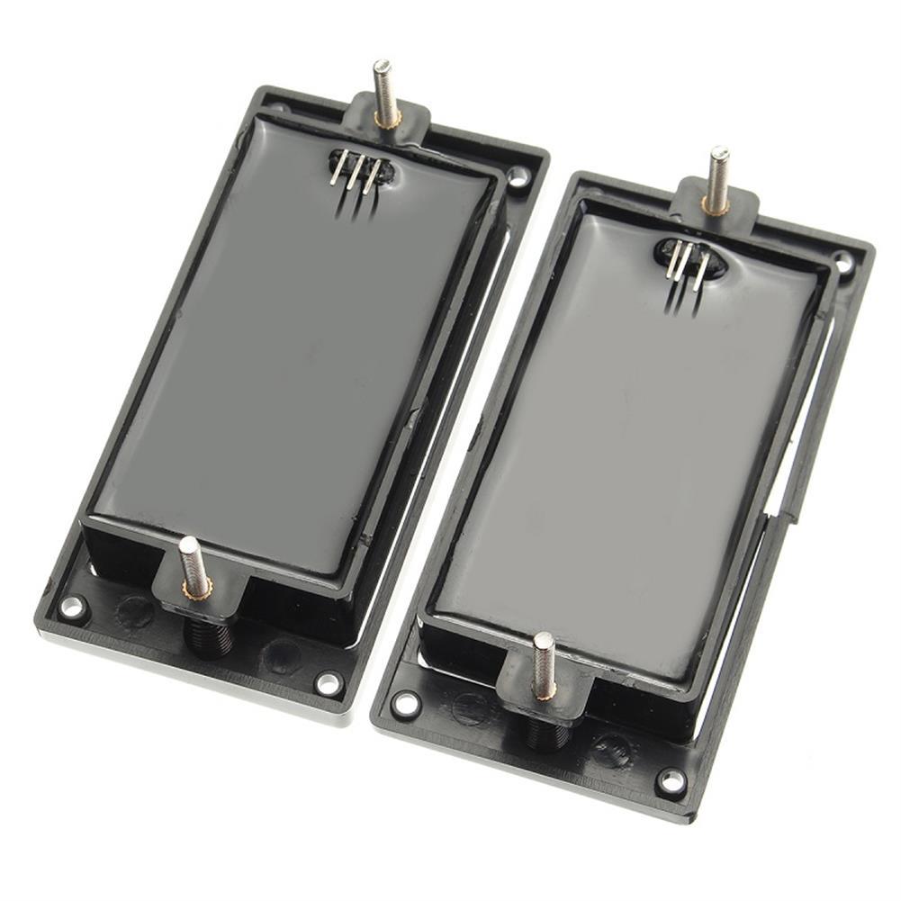 guitar-accessories 2Pcs 81/85 Humbucker Guitar Pickup Set Black with 25K Potentiometers for Guitar Parts HOB1284942 2