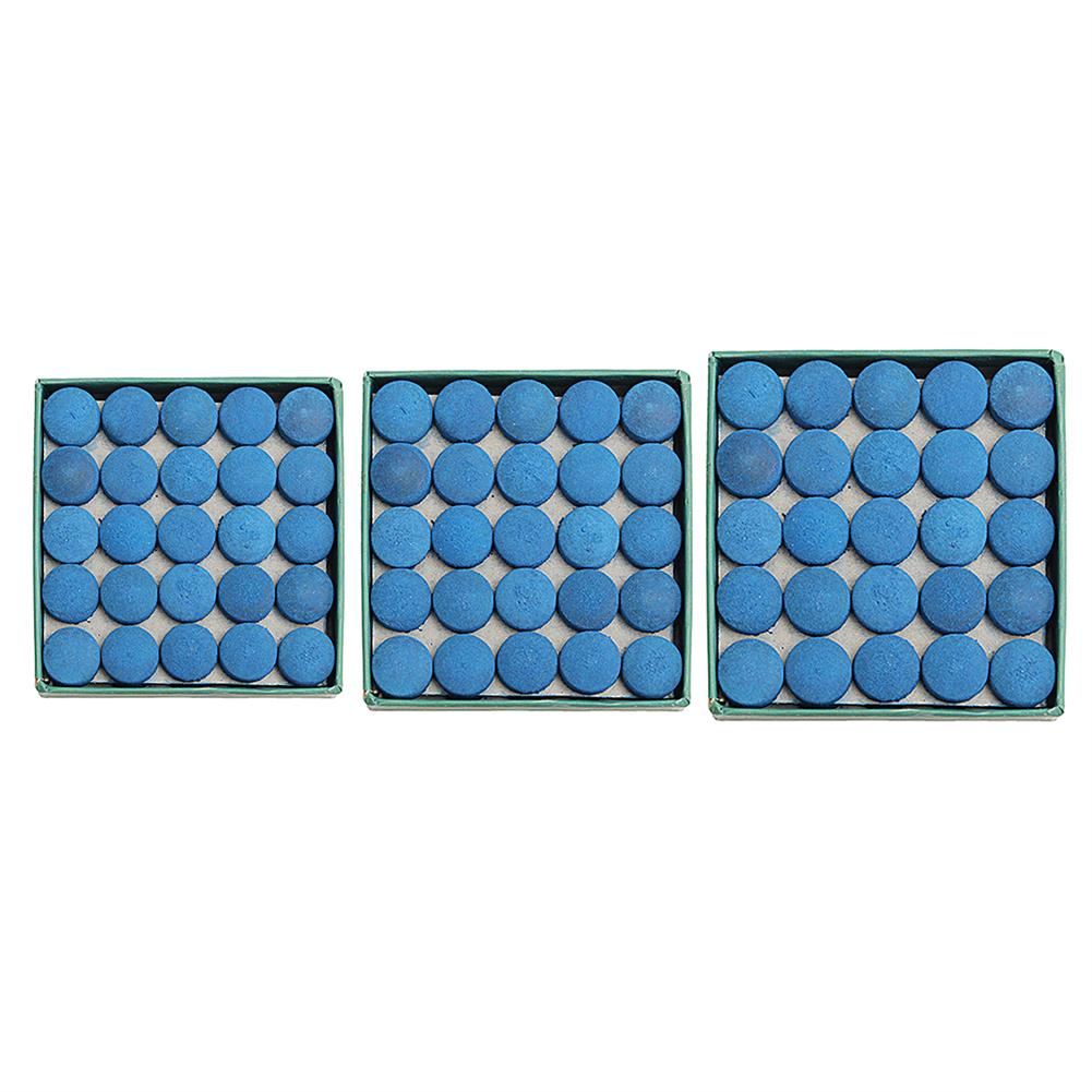 puzzle-game-toys 50Pcs Glue-on Pool Billiards Leather Blue Cue Tips Box Game Sport 9mm 10mm 13mm HOB1286214 2