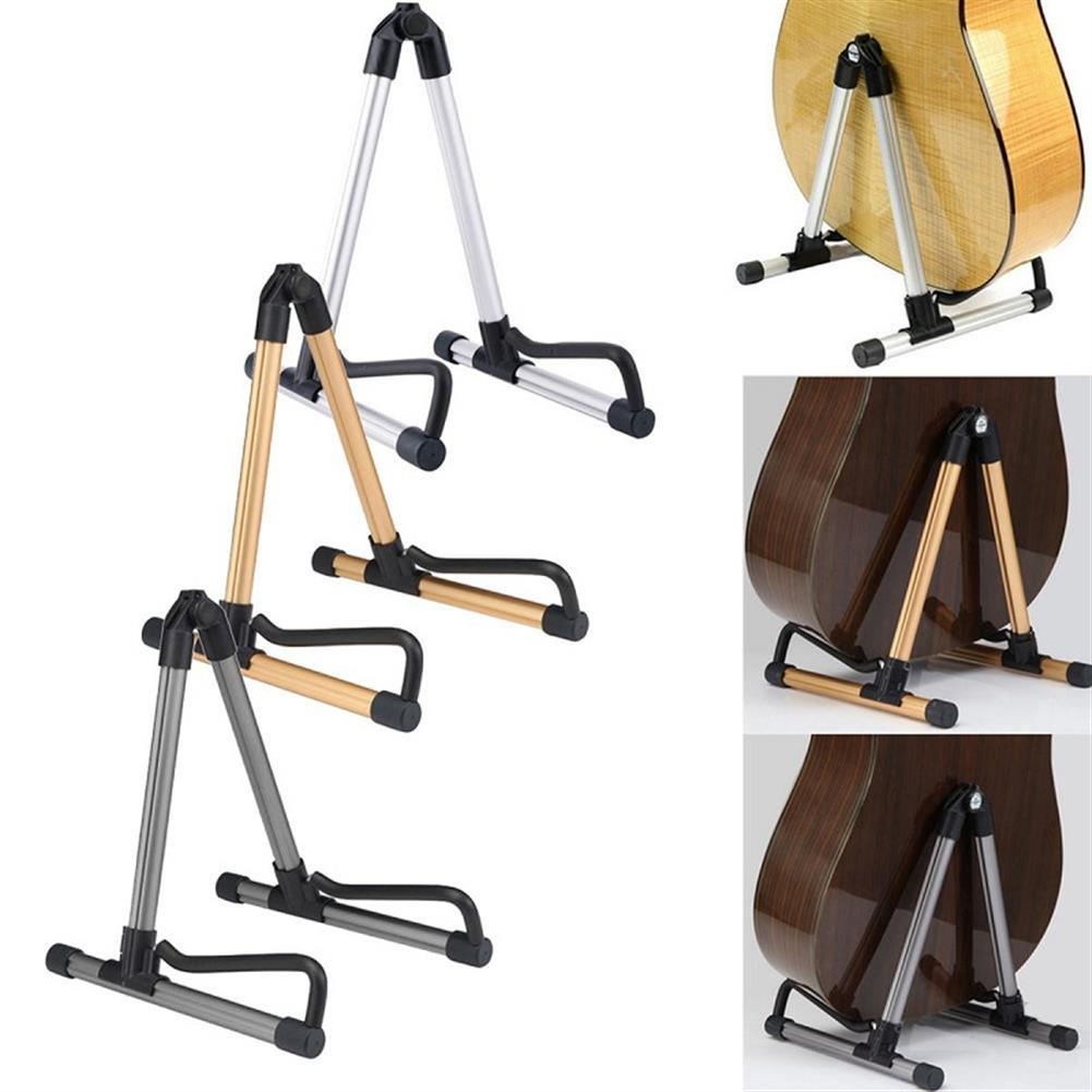 guitar-accessories Folding Electric Acoustic Bass Guitar Stand Holder for Guitar Ukulele Violin HOB1288267