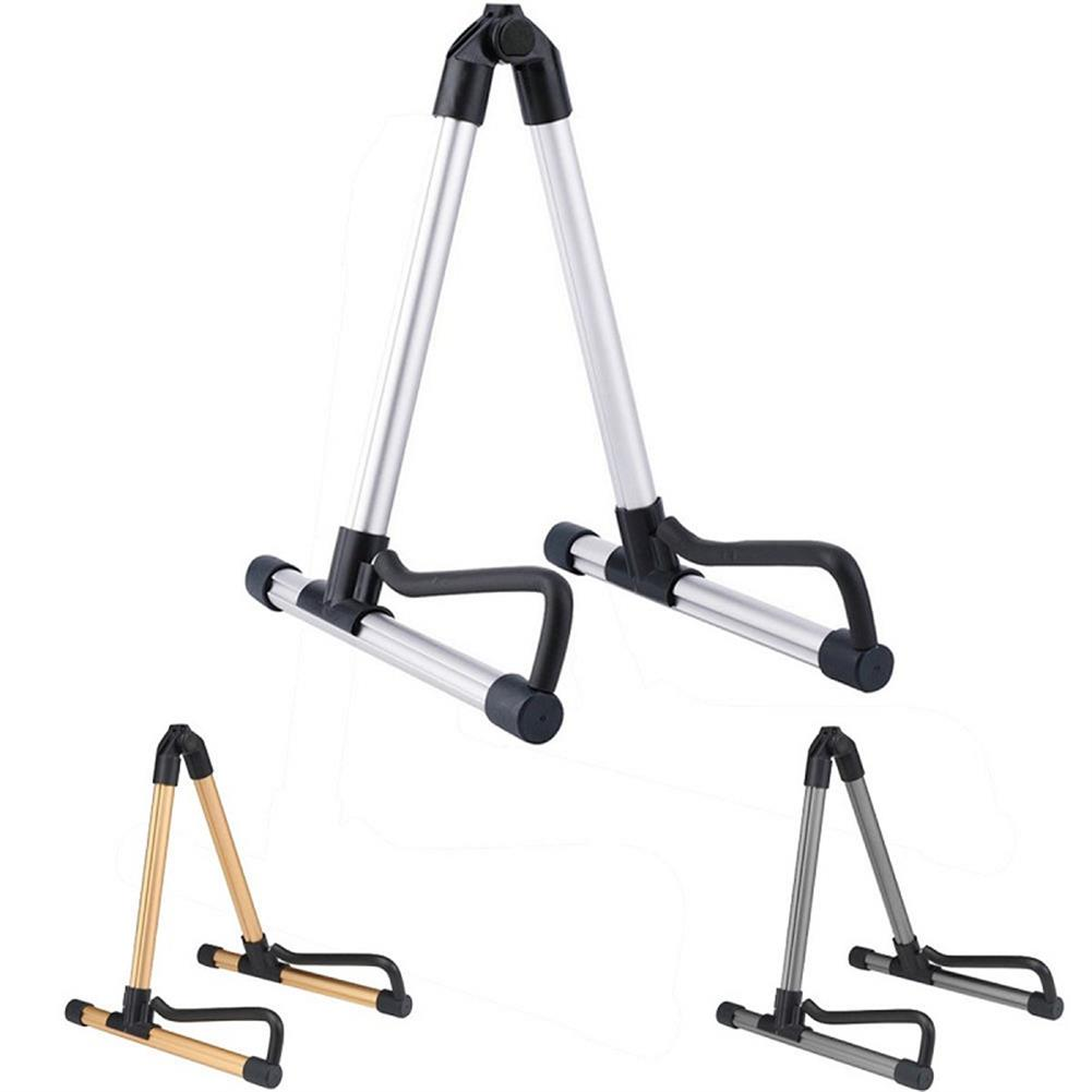 guitar-accessories Folding Electric Acoustic Bass Guitar Stand Holder for Guitar Ukulele Violin HOB1288267 1
