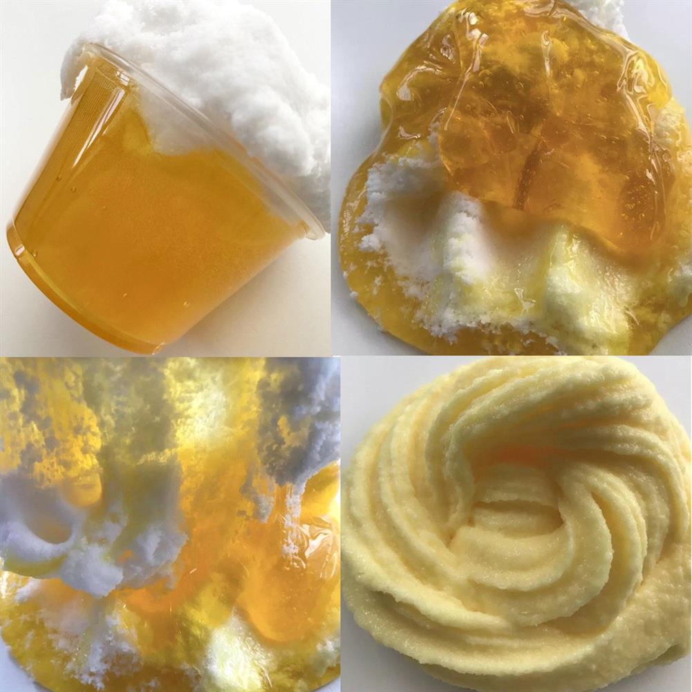 pottery-clay-tools 100ML Beer Crystal Brushed Mud Slime DIY Gift Toy Stress Reliever HOB1294214