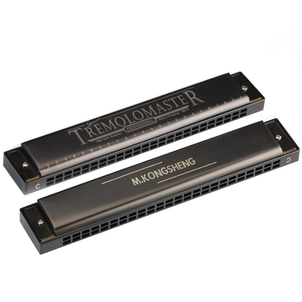 harmonica Kong Sheng 24 Holes Tremolo Polyphonic Harmonica C Key for Children Beginner Musical instrument HOB1295384