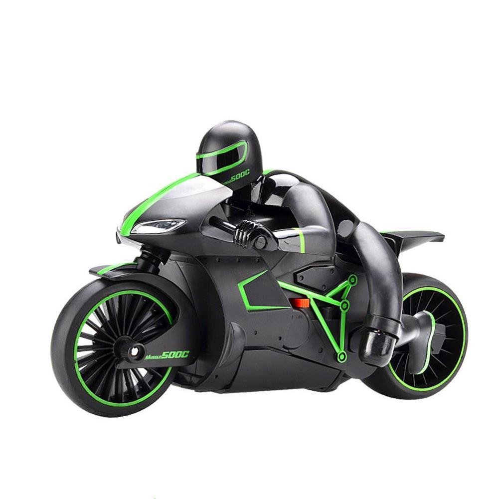 rc-motorcycle-rc-vehicles ZhengCheng 333-MT01B 2.4G 20km/h Rc Car Motorcycle 30 Degree 24.4*12.7*14cm with Flashlight HOB1297347 1