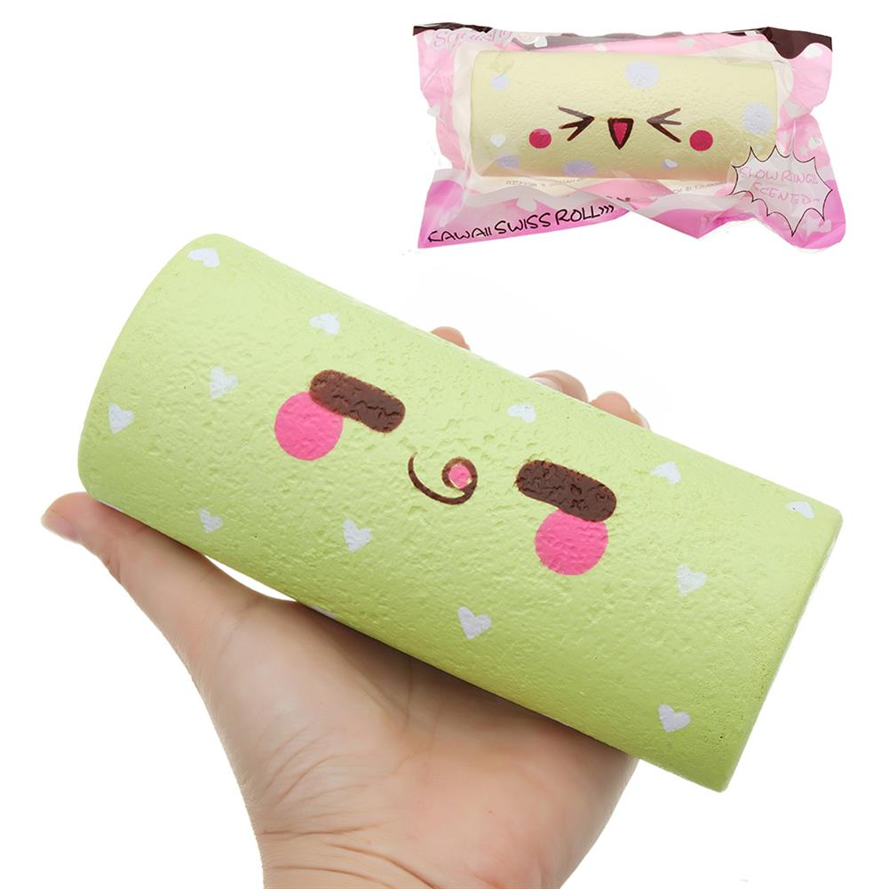 squishy-toys SquishyFun Squishy Egg Swiss Roll Toy 14.5*6*5CM Slow Rising with Packaging Collection Gift Soft Toy HOB1298780