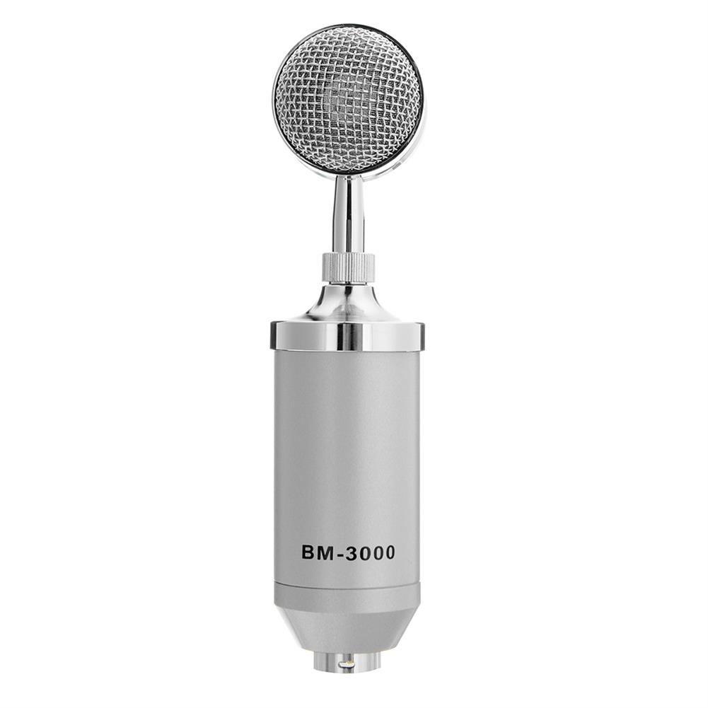 microphones-karaoke-equipment BM-3000 Studio Recording Condenser Microphone Metal Shock Mount for ASMR HOB1306626 1