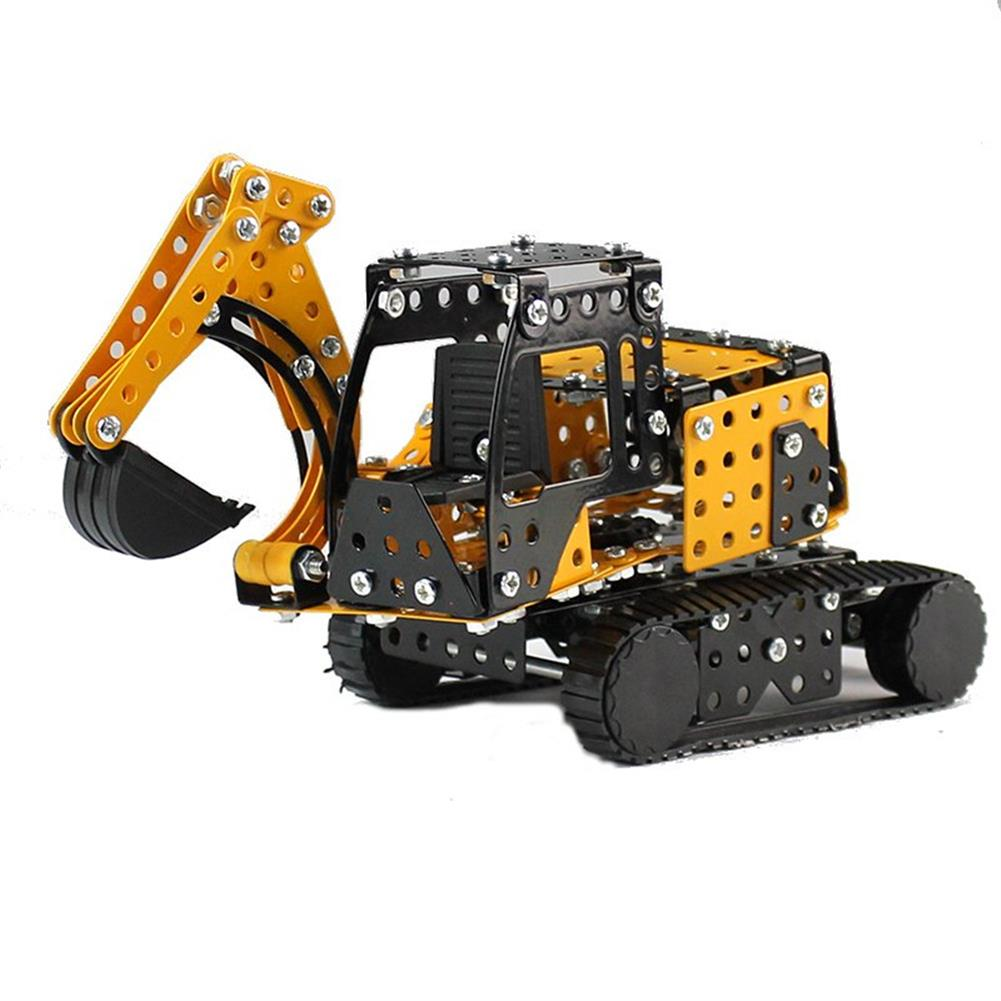 model-building MoFun 3D Metal Puzzle Construction Truck Stainless Steel Model Building Toy 351PCS HOB1313235
